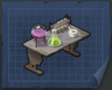 стол химика