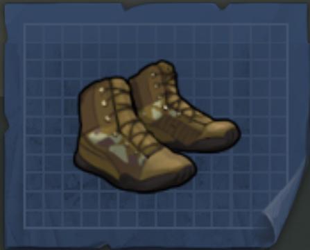 Военные ботинки